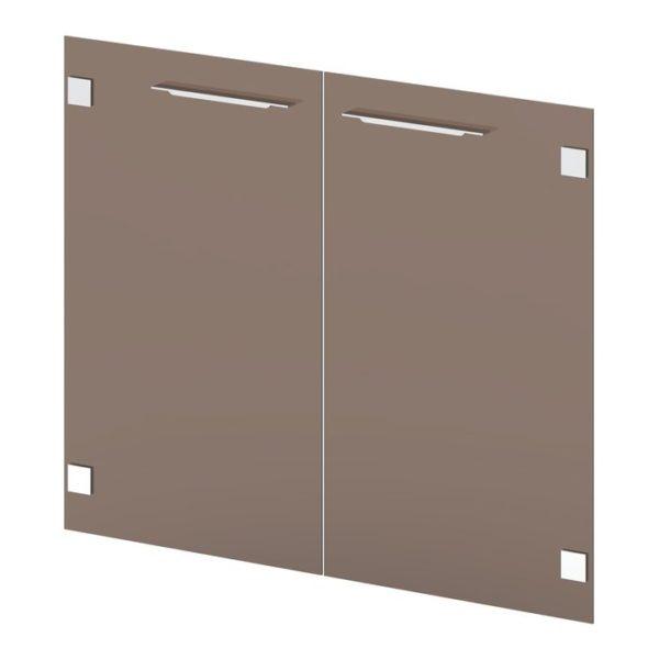 Двери стеклянные низкие G-021