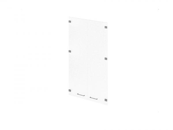 Двери P-021 средние стеклянные