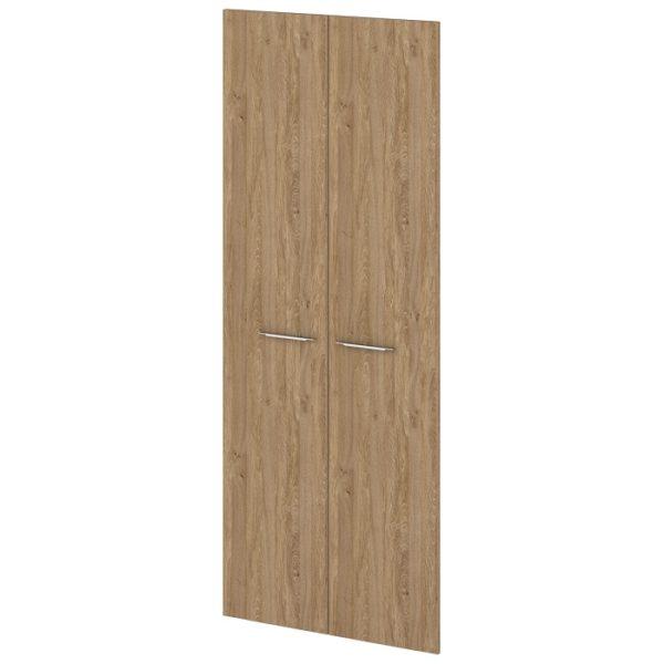 Двери ЛДСП высокие G-030-615 дуб верцаска карамель