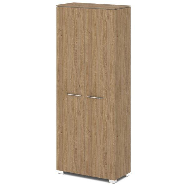 Шкаф для одежды G-741-615 дуб верцаска карамель и бежевый песок