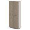 Шкаф для одежды G-741-617-06 дуб верцаска латте и бежевый песок