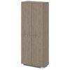 Шкаф для одежды G-741-617 дуб верцаска латте и бежевый песок