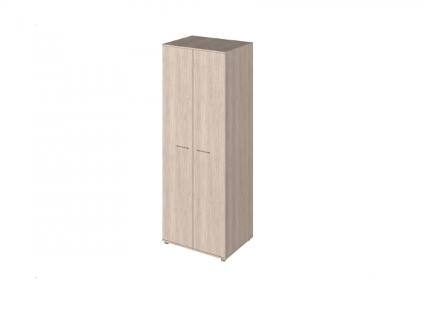 Шкаф для одежды P-731 сантана светлый