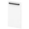 Дверь низкая L-011 Белый Альба Маргарита