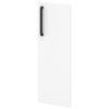 Двери средние L-022 Белый Альба Маргарита