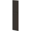 Двери высокие лаковые л/пр L-031 Дуб Линдберг Темный и Горький Шоколад