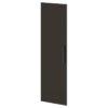 Дверь высокая лаковая L-039л Белый Альба Маргарита и Горький Шоколад