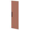 Дверь высокая лаковая L-039пр Белый Альба Маргарита и Терракот