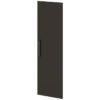 Двери высокие лаковые л/пр L-039 Дуб Линдберг темный и Горький Шоколад