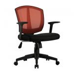 Кресло BRABIX MG-301 Diamond для персонала ткань оранжевая