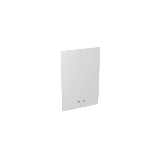 Двери S-021 стеклянные прозрачные