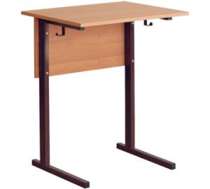 стол ученический одноместный регулируемый