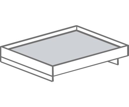 Кровать двуспальная Т- 416