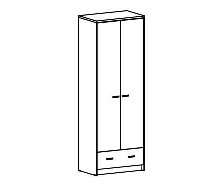 Шкаф комбинированный с ящиком Т-301