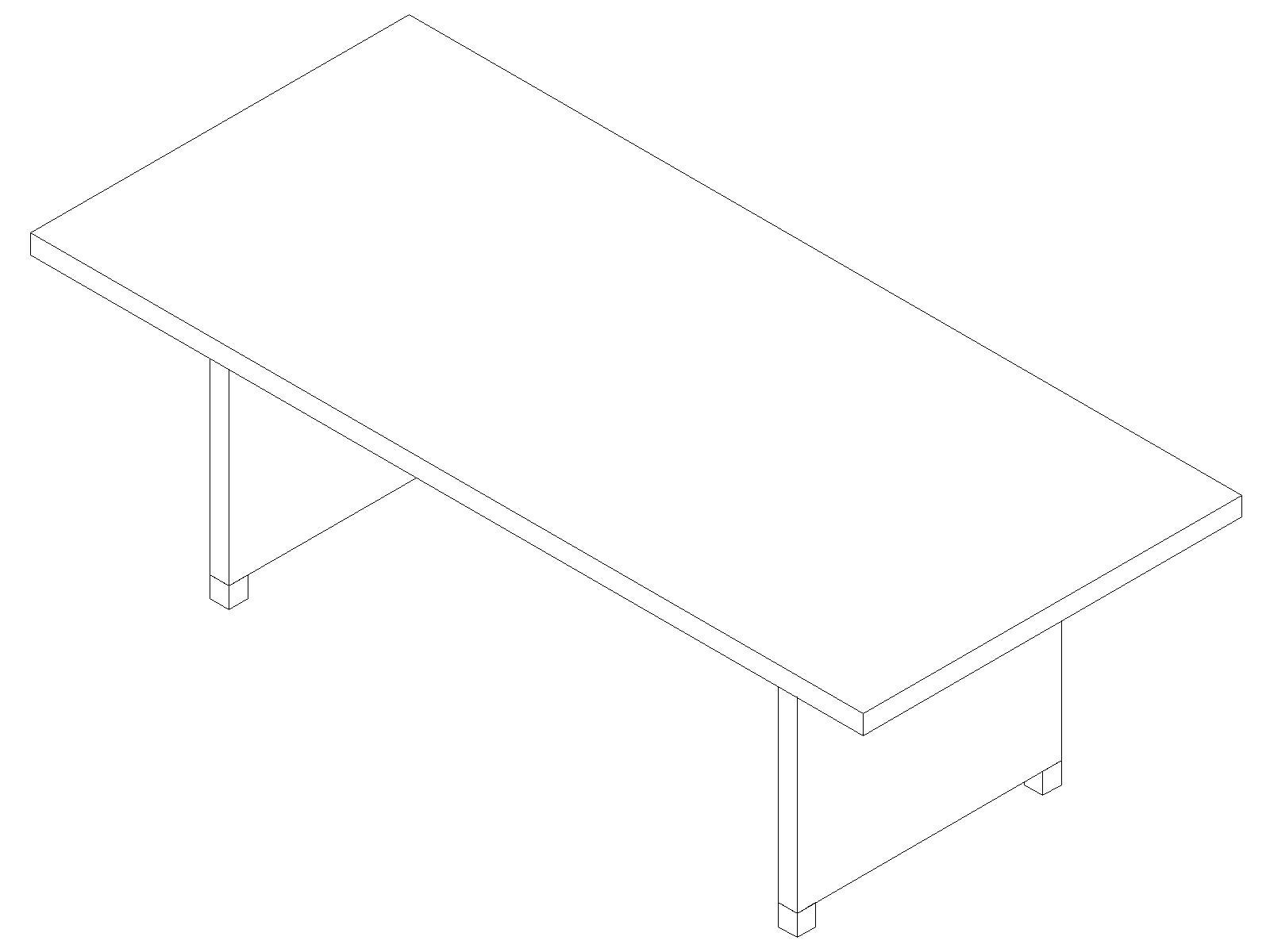 Стол для переговоров EDV206