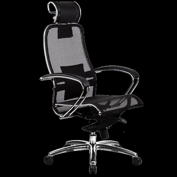 кресло Metta SAMURAI S-2.03 черный