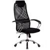 Кресло Metta BK-8 хром черный
