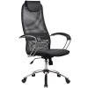 Кресло Metta BK-8 хром темно-серый