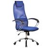 Кресло Metta BK-8 хром синий