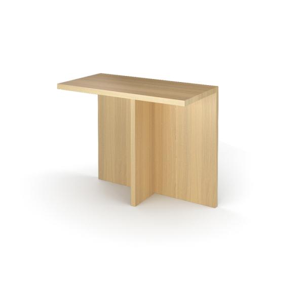Окончание стола заседаний КТ-06 Дуб светлый