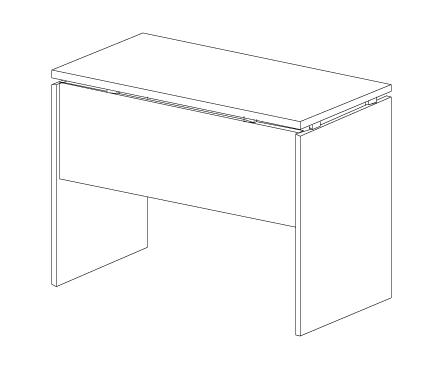 Стол приставной Н-027