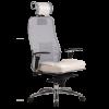Эргономичное кресло Samurai SL-3.02 белый лебедь