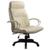 Кресло руководителя Metta LK-15 перфорированная эко-кожа бежевый