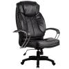 Кресло руководителя Metta LK-12 пластик перфорированная эко-кожа черный