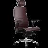 Эргономичное кресло Samurai K-3.02 темно-бордовый