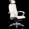 Эргономичное кресло SAMURAI K-2.02 белый лебедь