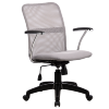 Кресло Metta FK-8 пластик светло-серый