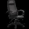 Кресло Metta BP-1 перфорированная эко-кожа черный