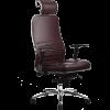 Эргономичное кресло Samurai KL-3.02 темно-бордовый