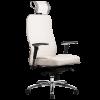 Эргономичное кресло Samurai KL-3.02 белый