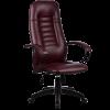 Кресло оператора Metta ВР-2 перфорированная эко-кожа бордовый
