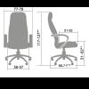 Кресло руководителя Metta LK-12 пластик