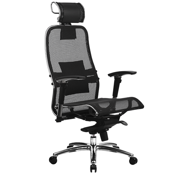 Кресло Metta Samurai S-3.02 черный