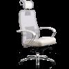 Эргономичное кресло SAMURAI SL-2.03 белый лебедь
