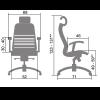 Эргономичное кресло Samurai K-3.02
