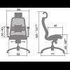 Эргономичное кресло Samurai SL-3.02