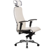 Эргономичное кресло Samurai K-3.02 белый лебедь