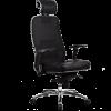 Эргономичное кресло Samurai SL-3.02 черный плюс