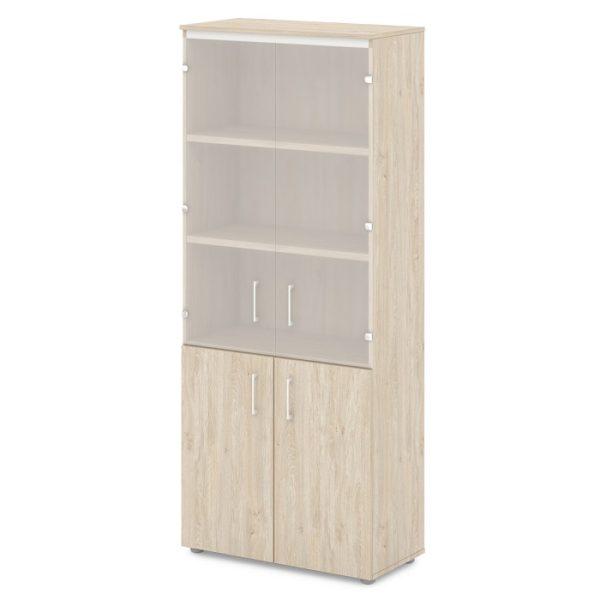 шкаф для документов S-614-555 дуб верцаска светлый