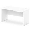 стол письменный S-44-522 л/пр белый