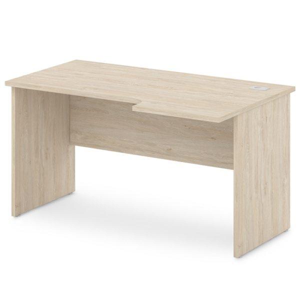 стол письменный S-44-555 дуб верцаска светлый