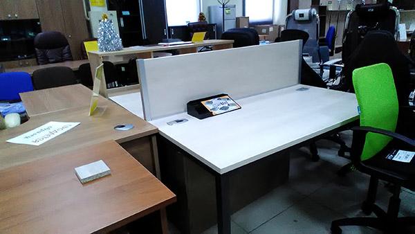 Стол-тандем на 2 рабочих места
