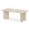 стол для переговоров S-101-555 дуб верцаска светлый
