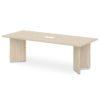 стол для переговоров S-102-555 дуб верцаска светлый