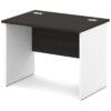 стол письменный S-10 белый и дуб честерфилд