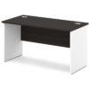 стол письменный S-14 белый и дуб честерфилд